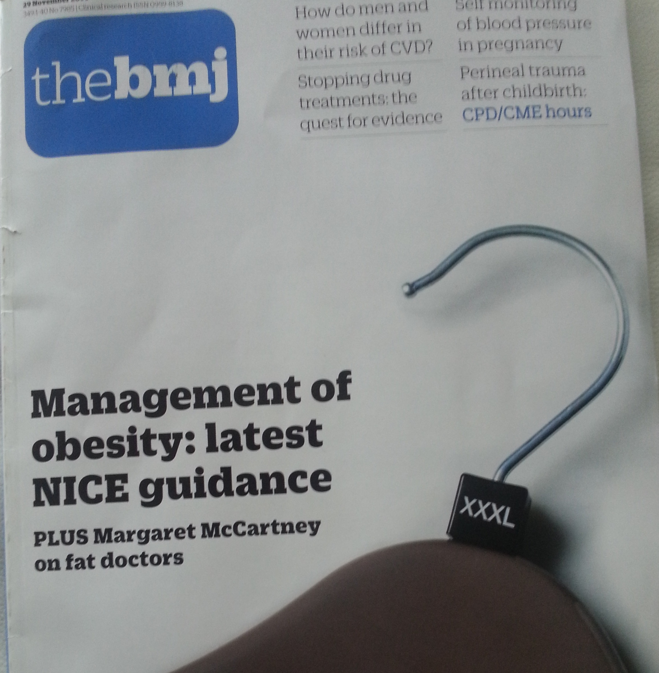 bmj cover obesity