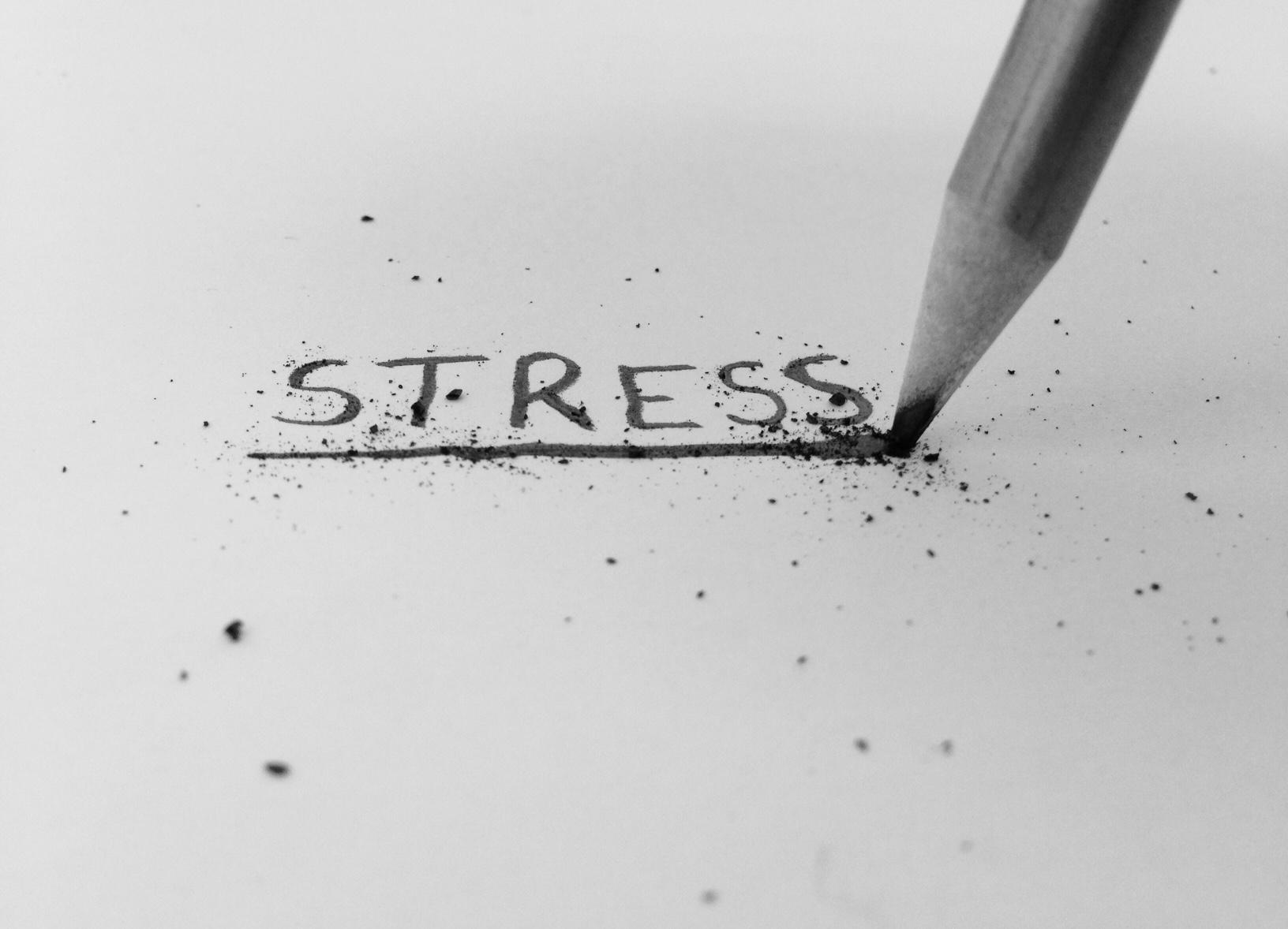 Dr Morton's - stress breaking a pencil
