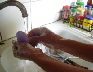 Dr Morton's - prevent spread of infection by washing hands
